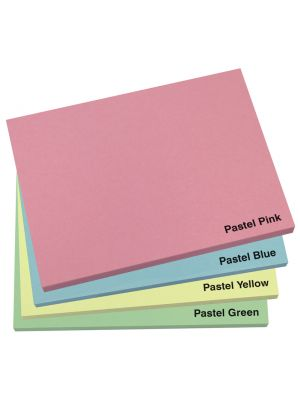 100mm x 75mm Pastel Sticky Note Pad
