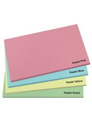 127mm x 75mm Pastel Sticky Note Pad- Colour Options