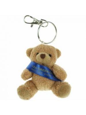 Tubby Sash Keyring Bear 8cm