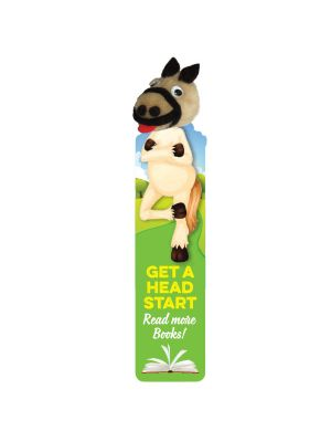 Animal Logobug Bookmark- Horse