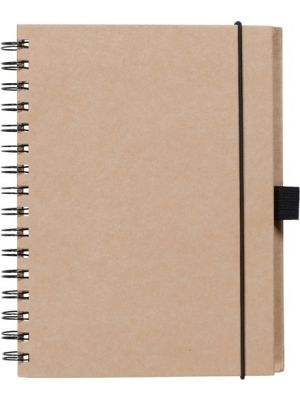 Birchley A5 Recycled Notebook- Natural
