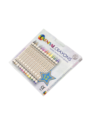 Carnival Crayons 12 Pack- Carnival Themed Box (Front)