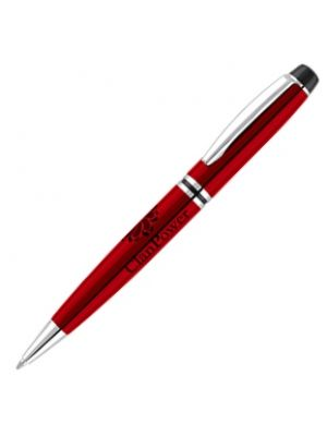 Churchill Ballpen- Red with printing