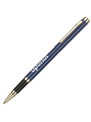 Envoy Rollerball- Blue with printing