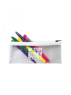 Frost Pencil Case- Clear