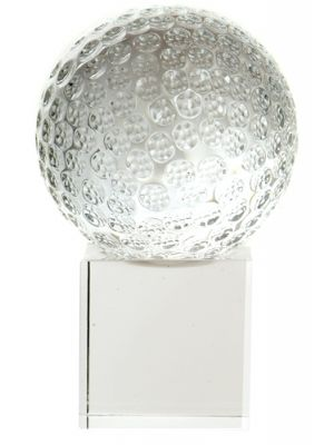 Golf Ball Trophy with Base