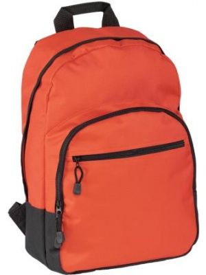 Halstead Promotional Backpack- Red
