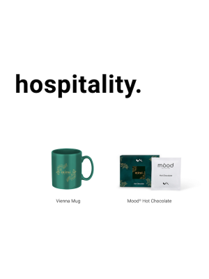 Hospitality Gift Pack with a white printed box- Contents