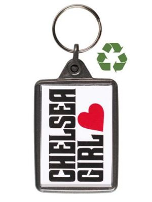 K24 Recycled Keyring- Graphite