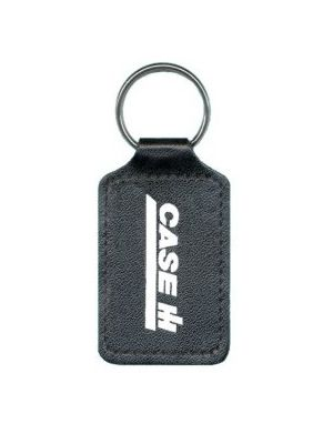Extra Large Square Bonded Leather Keyfob