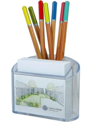 Pen and Paper Block Holder