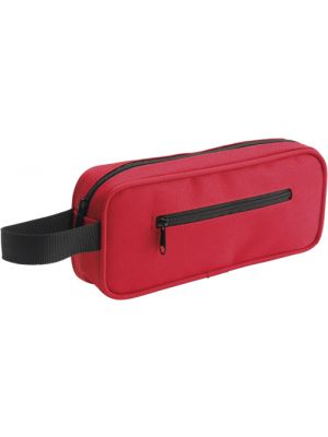 Pencil Case with Handle- Red