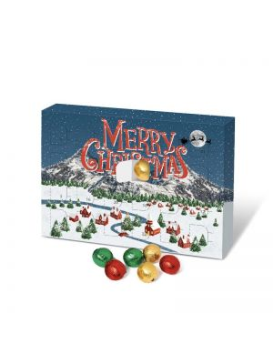 Personalised A5 Chocolate Ball Advent Calendar