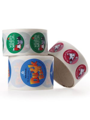 Roll of Stickers- Variety of sticker sizes