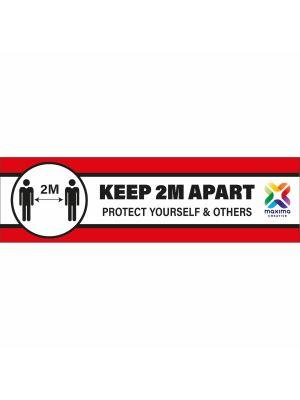 R9 Rated Anti Slip and Anti Scuff Floor Sticker- Rectangle