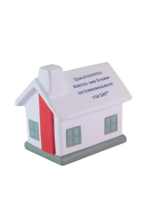 Stress Ball- House- White Roof