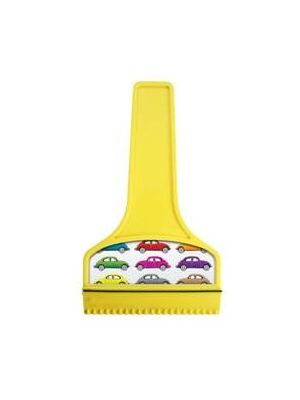 T-Shaped Ice Scraper- Yellow with printing