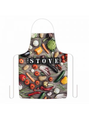 Waterproof Apron with your design printed across the apron front.
