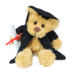 26cm Graduation Teddy Bear- Rocky Honey