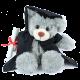 26cm Graduation Teddy Bear- Stanley Grey