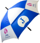 Autovent Umbrella- Royal Blue and White