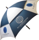Supervent Umbrella- Navy and white