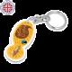 Trolley Stick Keyring- Oval shape