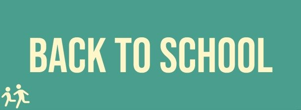 Small website banner leading to a page showing back-to-school products
