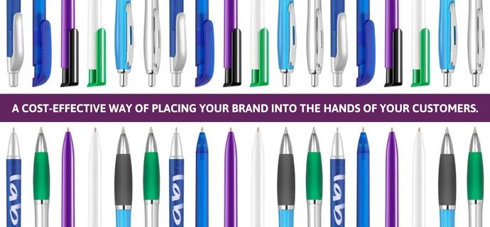 cost effective marketing with branded pens