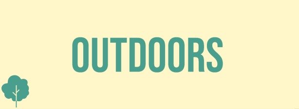 Small website banner leading to a page showing products available for branding to encourage outdoor activities