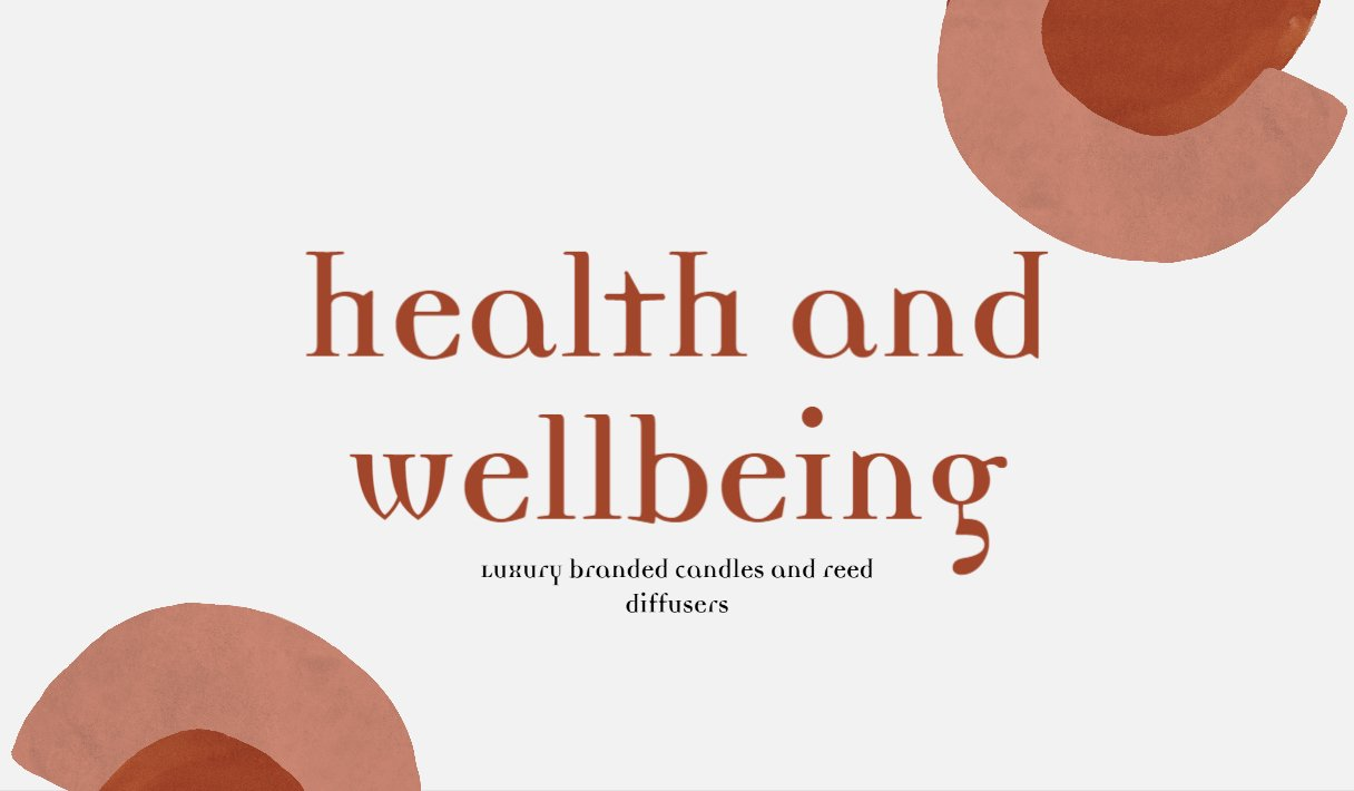 Health and wellbeing website banner