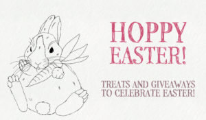 Hoppy Easter! Easter Treats and Giveaways for everyone...